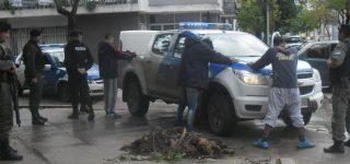 La falta de móviles de Gendarmería afecta la operatividad de esta fuerza, sin embargo colabora con la Policía en las tareas de prevención, control vehicular e identificación de personas.
