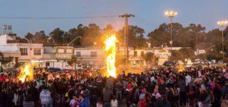 Las Fiestas Patronales se concentrarán en el predio Dos Rutas. Participará en vivo La Macha, y para las 17 está prevista la quema de 9 muñecos realizados por instituciones de nuestra ciudad.