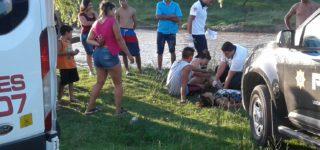 En la tarde del 1º de enero una joven de 16 años y otra de 19 corrieron riesgo de perecer ahogadas en el arroyo Pavón pero fueron rescatadas por dos personas que se arrojaron para salvarlas. Esta decidida actitud impidió que el suceso tuviese un saldo fatal.