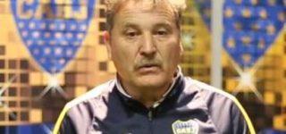 El campeón con el Boca de Diego Armando Maradona de 1981, Roberto Pasucci. vendrá a ver jugadores.