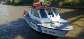 El cuerpo del joven villense desaparecido el lunes en el río Paraná, frente a Rosario, fue hallado durante la noche del martes en el Saladillo.
