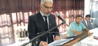Durante un detallado discurso que se extendió por casi una hora, el intendente Jorge Berti hizo una pormenorizada descripción de lo realizado por su gestión municipal y de cada una de las secretarías y áreas que la integran.