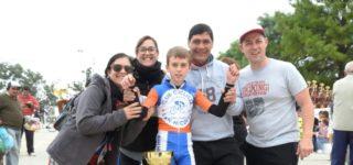 El ciclista villense volvió a tener una destacada participación en una nueva fecha del Campeonato Nacional que se disputó en Nogoyá, donde finalizó en la quinta colocación, puesto que le permitió conservar su liderato en el campeonato.
