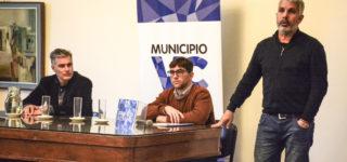 El Municipio y AFIP trabajarán de manera mutua y el proyecto se presentó con la participación del director Regional de la Administración Federal, CPN Carlos Vaudagna.