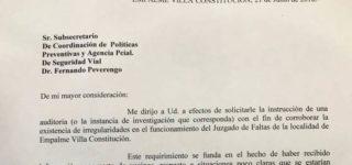 La Comisión Comunal de la vecina localidad difundió durante la noche del sábado un comunicado detallando lo sucedido en el Juzgado de Faltas, ratificando la información publicada por Diario EL SUR.
