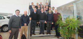 Giorgi recibió la visita de una comitiva de más de diez funcionarios de Ford Argentina encabezada por el nuevo presidente de Ford Grupo Sur, Gabriel López.