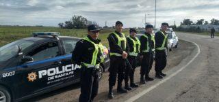 La Unidad Regional VI retomó los operativos conjuntos con personal de la policía de Buenos Aires en las conexiones viales entre esa provincia y el departamento Constitución. Participaron numerosos efectivos de diversas agrupaciones.
