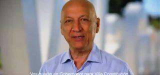El candidato a gobernador por el Frente Progresista, Antonio Bonfatti, sorprendió con un spot de campaña que menciona cuestiones cotidianas de Villa Constitución.