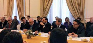 El vicepresidente de la Asociación de Entidades Empresarias del Sur Santafesino, Marcelo Maciel, participó de la VI Reunión de la Red del Corredor Bioceánico Central, en el marco de la 54ª Cumbre del Mercosur. En la ciudad de Santa Fe se dieron cita 6 presidentes sudamericanos.