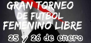 El fin de semana del 25 y 26 de enero se desarrollará el torneo de fútbol femenino libre organizado por la Comisión Vecinal de Barrio Estanislao López. Habrá grandes premios en juego.