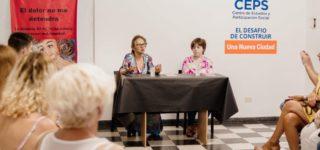 En el marco del Día Mundial Contra el Cáncer, el Centro ubicado en 14 de Febrero y Rivadavia recibió a Ana María Angeloni y Lena Golianich.