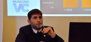 En la oportunidad, Rubicini también presentó el balance económico del 2019.