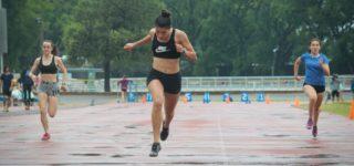 """El Torneo Regreso 1 """"Provincial Virtual"""" tuvo lugar este sábado, en simultáneo en las ciudades de Rosario y Santa Fe mientras que se postergó en San Guillermo por el mal clima. Se corrió en marcha y atletismo con vallas."""