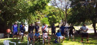 El segundo torneo de futgolf tuvo lugar el domingo, en el Camping de la Ribera con un marco espectacular de sol y el gran marco verde del predio. Hubo premios a los tres primeros e importantes sorteos entre los participantes.