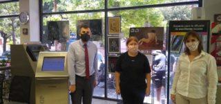 La entidad bancaria continúa brindando sus instalaciones para que los artistas de nuestra ciudad exhiban sus obras.
