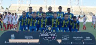 """El conjunto de Cristian """"El Kily"""" González fue derrotado 3 a 0 por Boca Unidos de Corrientes, quien actualmente milita en el Federal A. El duelo fue en el Estadio Único de San Nicolás por los 32avos de final de la Copa Argentina."""