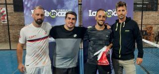 La dupla villense se consagró en el torneo compensado de 6ª y 7ª categoría que inició el viernes y culminó el domingo en el Complejo La Terraza con 24 parejas inscriptas.